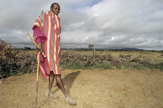 Massai-Guide Jonathan