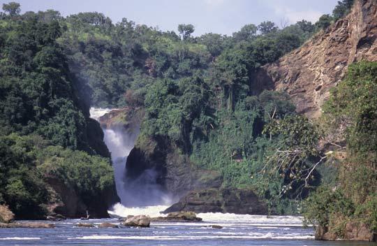 Murchison-Wasserfälle des Nil