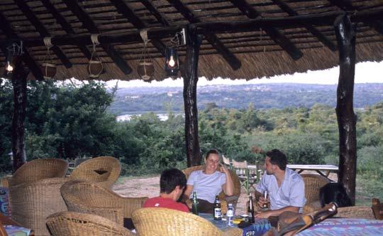 Bar im Red Chilli Camp